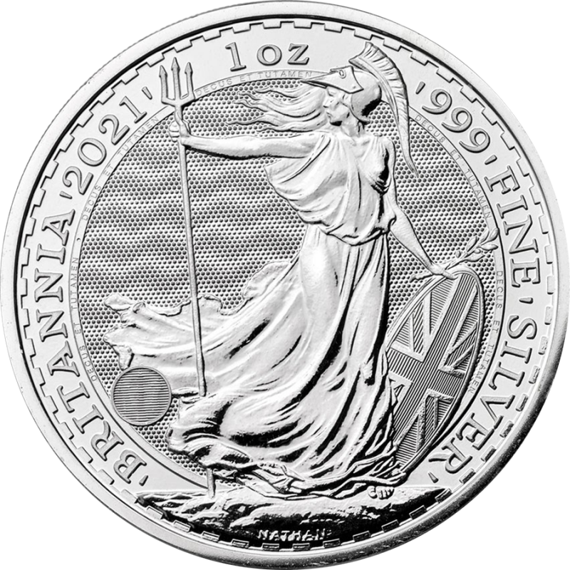 Britannia 2021 – 1 Uncja Srebra  od 25 Sztuk w Górę