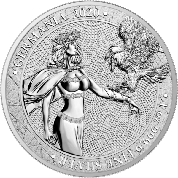 Moneta srebrna germania mint